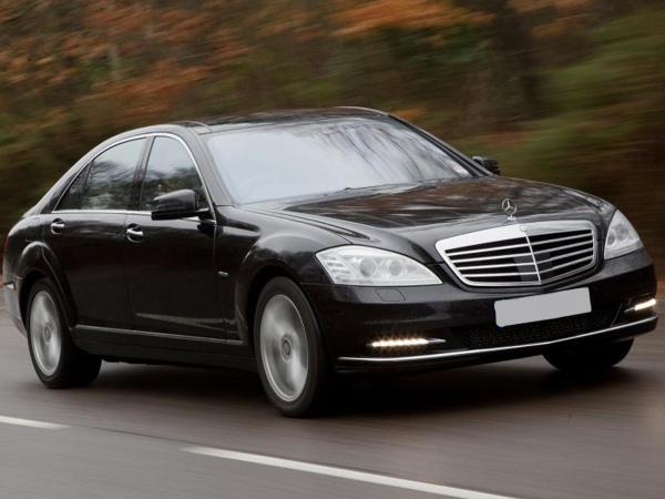 Mercedes S Class Chauffeur Services Ireland - Airport Transfers, Weddings, Tours