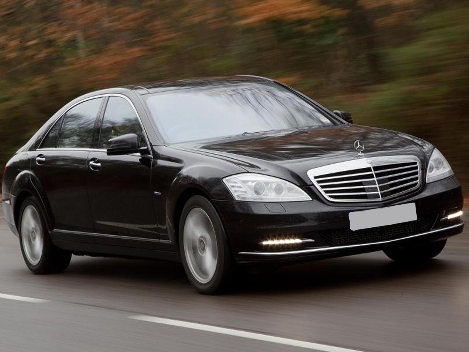Luxury Mercedes S Class Chauffeur Services Ireland