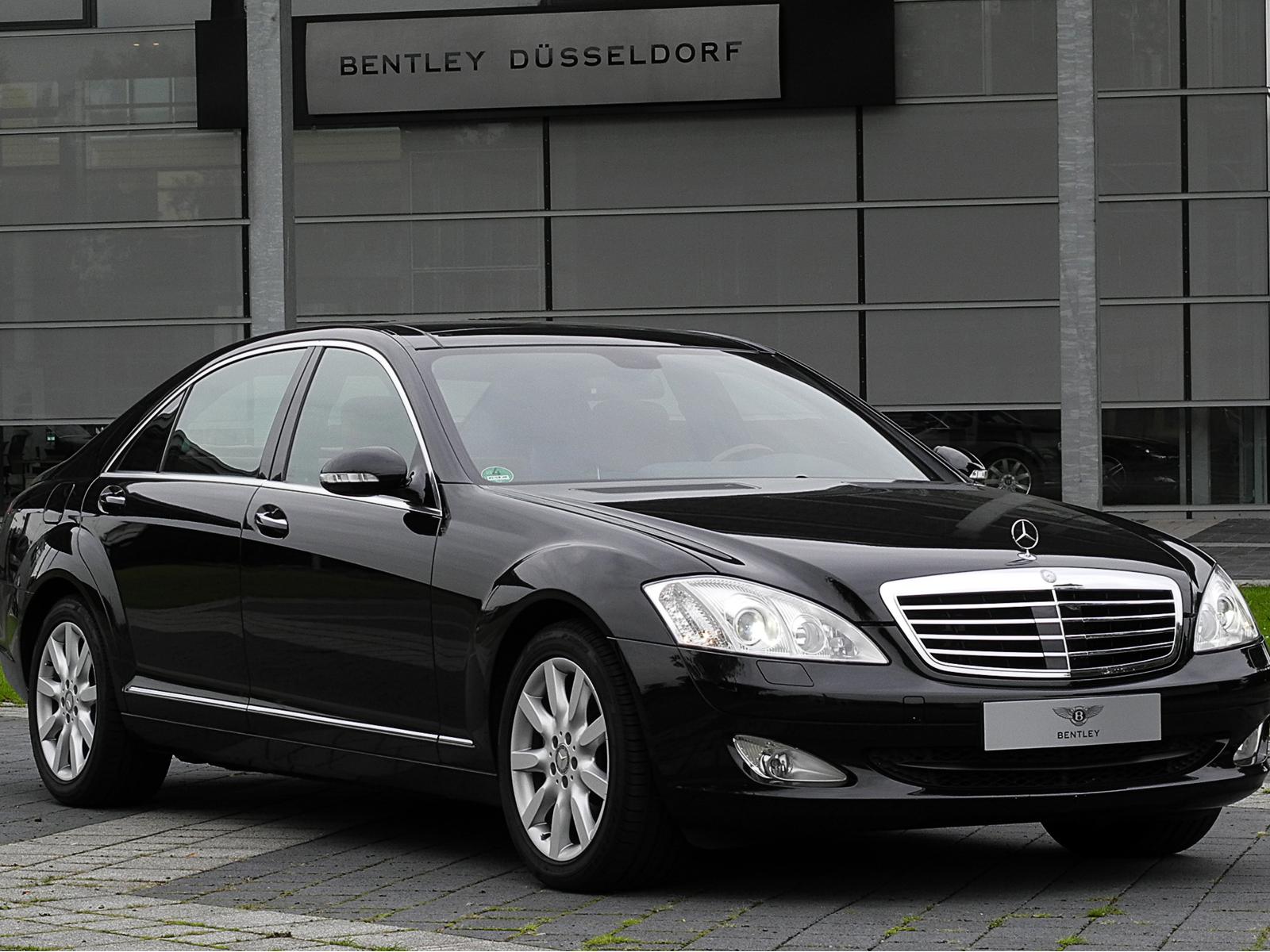 Mercedes S Class Chauffeur Services Ireland